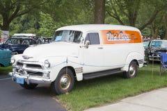 Выставка автомобилей Van Iola старая Стоковое фото RF