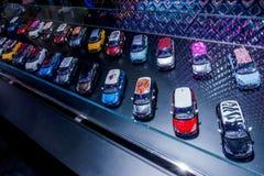 Выставка автомобиля автомобилей Стоковое Изображение RF