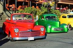 Выставка автомобиля дней Deuce классическая Стоковая Фотография RF