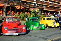 Выставка автомобиля дней Deuce классическая Стоковое фото RF
