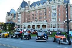 Выставка автомобиля дней Deuce классическая Стоковая Фотография