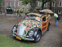 Выставка автомобиля WW на острове губернаторов, NY, США Стоковое фото RF