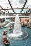 Выставка лазера песка и сада залива Марины Сингапура заливом Стоковые Изображения