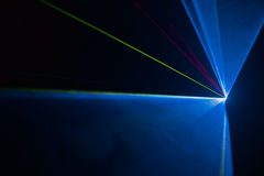 Выставка лазерного луча диско Стоковое Изображение RF