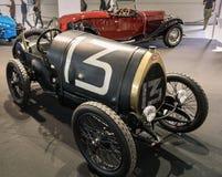 Выставка антиквариата и автомобилей спорт стоковая фотография