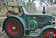 Выставка античных тракторов Стоковые Фото