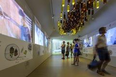 Выставка внутри павильона 04 Испании, милан 2015 ЭКСПО Стоковые Фото