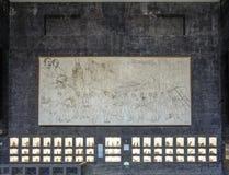 Выставка внутри Museo Anahuacalli Стоковая Фотография