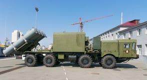 Выставка военной технологии Стоковые Изображения RF