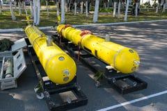 Выставка военной технологии Стоковая Фотография RF