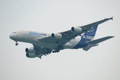 выставка воздуха a380 Стоковая Фотография