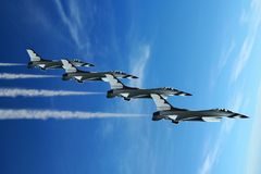 выставка воздушной струи Стоковые Фотографии RF