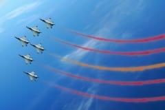 выставка воздушной струи Стоковая Фотография RF