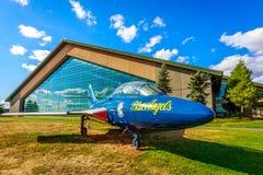 Выставка воздушных судн Стоковые Фото