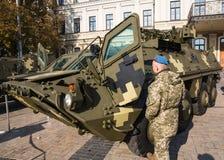 Выставка воинского оборудования в Киеве Стоковое Изображение