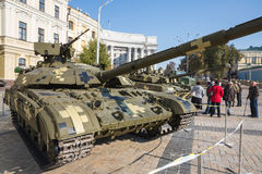 Выставка воинского оборудования в Киеве Стоковая Фотография RF