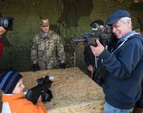 Выставка воинского оборудования в Киеве Стоковые Изображения
