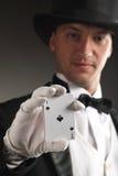 выставка волшебника карточки Стоковые Фото