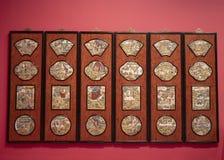 Выставка в музее наследия Гонконга стоковые изображения