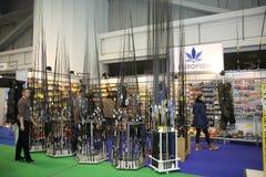 Выставка, звероловство и рыбная ловля шлюпки Белграда Стоковое фото RF