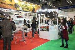 Выставка, звероловство и рыбная ловля шлюпки Белграда Стоковые Изображения