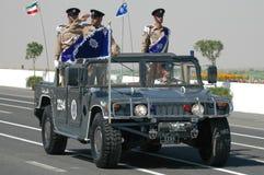 выставка Кувейта армии стоковое изображение