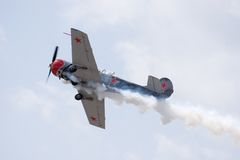 выставка ладони свободного полета воздуха Стоковые Фото