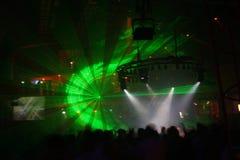 выставка лазера Стоковые Фотографии RF