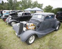 выставка места автомобиля Стоковые Изображения RF