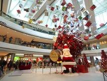 выставка мола ifc рождества Стоковая Фотография