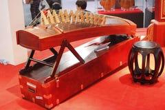 Выставка 2014 музыкальных инструментов Шанхая международная Стоковое фото RF
