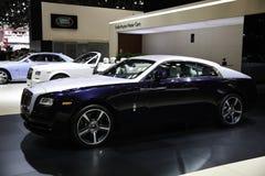 Rolls Royce showcased на выставке нью-йорк автоматической Стоковые Изображения