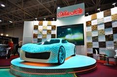 Выставка 2012, 11-ое апреля 2012, Москва, Россия MosBuild Стоковое Изображение