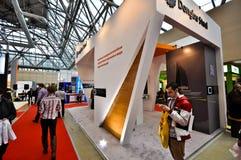 Выставка 2012, 11-ое апреля 2012, Москва, Россия MosBuild Стоковая Фотография