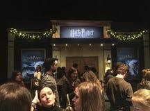 Выставка первоначального материала киносъемки Гарри Поттера стоковая фотография rf