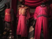 Выставка первоначального материала киносъемки Гарри Поттера стоковая фотография
