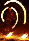 выставка пожара Стоковое фото RF