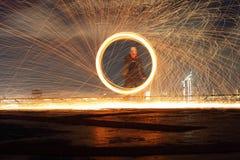Выставка пожара Стоковые Фото