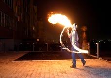 выставка пожара Стоковая Фотография RF