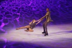 Выставка - праздник на льде Стоковое Фото