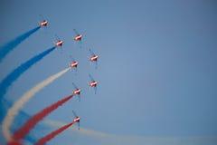 выставка представления воздушной струи Стоковые Изображения