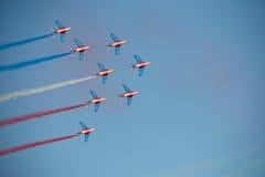 выставка представления воздушной струи Стоковая Фотография RF
