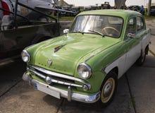 Выставка ретро автомобилей на выставке Стоковые Изображения