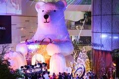 Выставка рождества Emquartier Стоковое Изображение