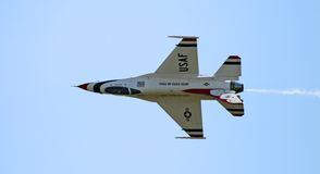 выставка самолет-истребителя воздуха Стоковое Изображение RF