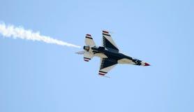 выставка самолет-истребителя воздуха Стоковая Фотография RF