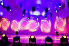 выставка света диско Стоковые Изображения