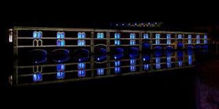 Выставка светлых и звука в страсбурге Стоковые Изображения RF