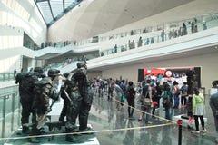 Выставка скульптуры Стоковое фото RF