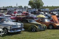 выставка способа автомобиля старая стоковые фото